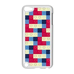 Hearts Apple iPod Touch 5 Case (White)