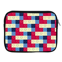 Hearts Apple iPad Zippered Sleeve