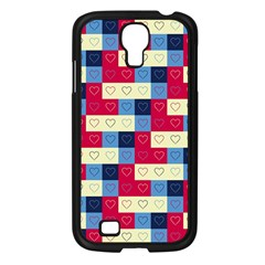 Hearts Samsung Galaxy S4 I9500/ I9505 Case (Black)