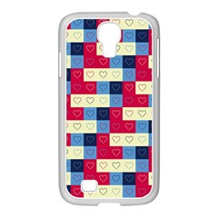 Hearts Samsung Galaxy S4 I9500/ I9505 Case (white)