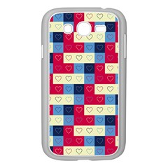 Hearts Samsung Galaxy Grand DUOS I9082 Case (White)