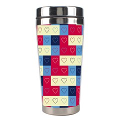 Hearts Stainless Steel Travel Tumbler