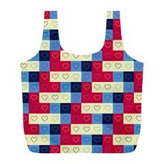 Hearts Reusable Bag (L)