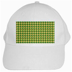 Retro White Baseball Cap