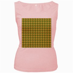 Retro Women s Tank Top (Pink)