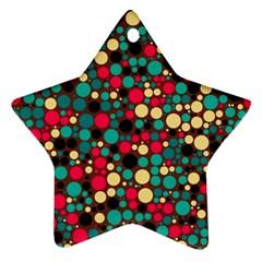 Retro Star Ornament