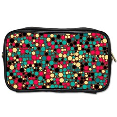 Retro Travel Toiletry Bag (Two Sides)