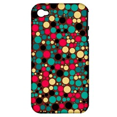 Retro Apple Iphone 4/4s Hardshell Case (pc+silicone)