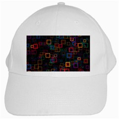 Retro White Baseball Cap