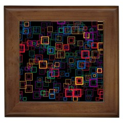 Retro Framed Ceramic Tile