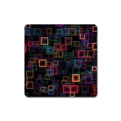 Retro Magnet (Square)