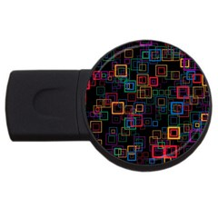 Retro 1GB USB Flash Drive (Round)