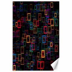 Retro Canvas 24  x 36  (Unframed)