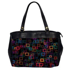 Retro Oversize Office Handbag (two Sides)