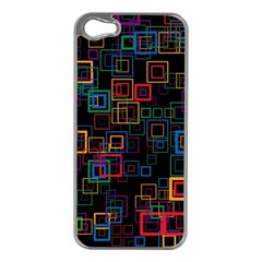 Retro Apple iPhone 5 Case (Silver)