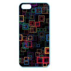 Retro Apple Seamless iPhone 5 Case (Color)