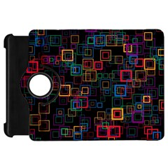 Retro Kindle Fire HD 7  (1st Gen) Flip 360 Case