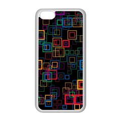 Retro Apple iPhone 5C Seamless Case (White)