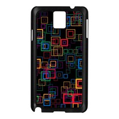 Retro Samsung Galaxy Note 3 N9005 Case (black)