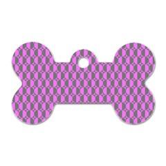 Retro Dog Tag Bone (Two Sided)