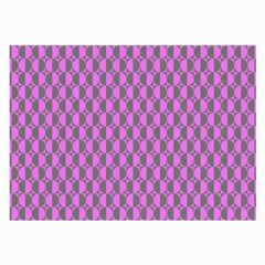 Retro Glasses Cloth (large, Two Sided)