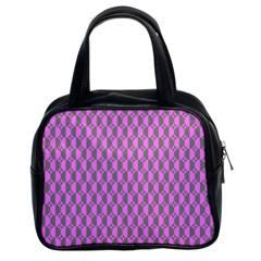 Retro Classic Handbag (two Sides)