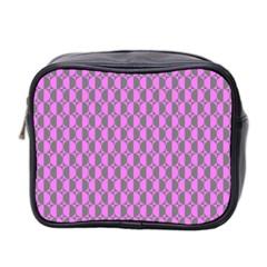 Retro Mini Travel Toiletry Bag (Two Sides)