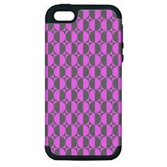 Retro Apple Iphone 5 Hardshell Case (pc+silicone)