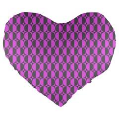 Retro 19  Premium Heart Shape Cushion
