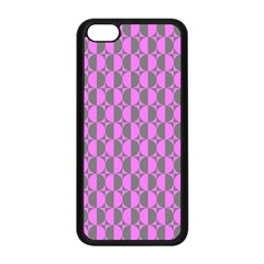 Retro Apple iPhone 5C Seamless Case (Black)