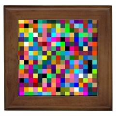 Tapete4 Framed Ceramic Tile