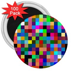 Tapete4 3  Button Magnet (100 pack)