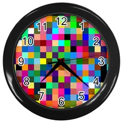 Tapete4 Wall Clock (Black)