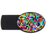 Tapete4 2GB USB Flash Drive (Oval) Front