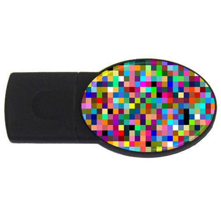 Tapete4 2GB USB Flash Drive (Oval)