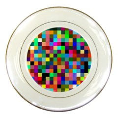 Tapete4 Porcelain Display Plate