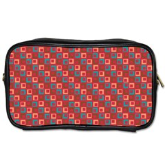 Retro Travel Toiletry Bag (One Side)