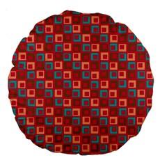 Retro 18  Premium Round Cushion
