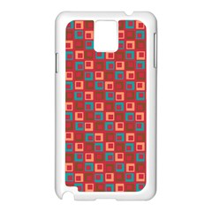 Retro Samsung Galaxy Note 3 N9005 Case (White)