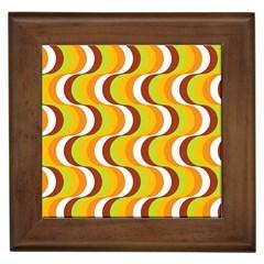 Retro Framed Ceramic Tile