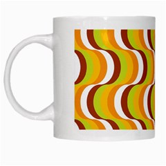 Retro White Coffee Mug