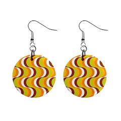 Retro Mini Button Earrings