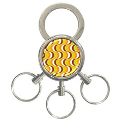 Retro 3-Ring Key Chain