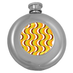 Retro Hip Flask (Round)