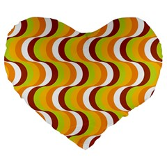 Retro 19  Premium Heart Shape Cushion