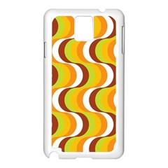 Retro Samsung Galaxy Note 3 N9005 Case (white)