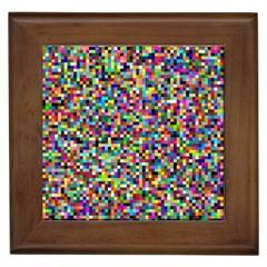 Color Framed Ceramic Tile