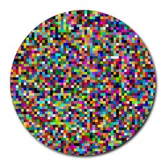 Color 8  Mouse Pad (round)