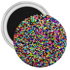 Color 3  Button Magnet