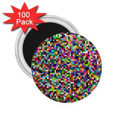 Color 2.25  Button Magnet (100 pack)